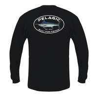 Tee LS Built Fish Marlin Black